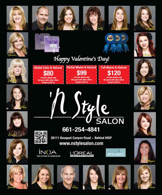 BEST SALON IN SANTA CLARITA